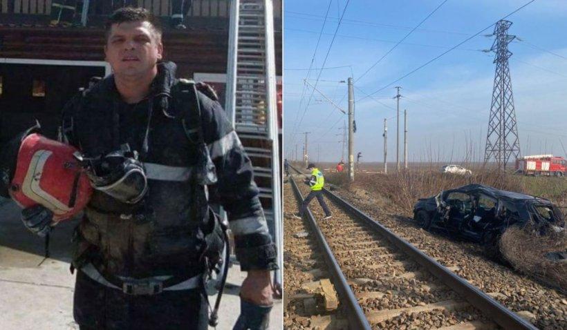 Florin a salvat vieţi, însă pe a lui nu a salvat-o nimeni. Pompierul care s-a stins sub ochii fiicei, eroul zilei la Antena 3