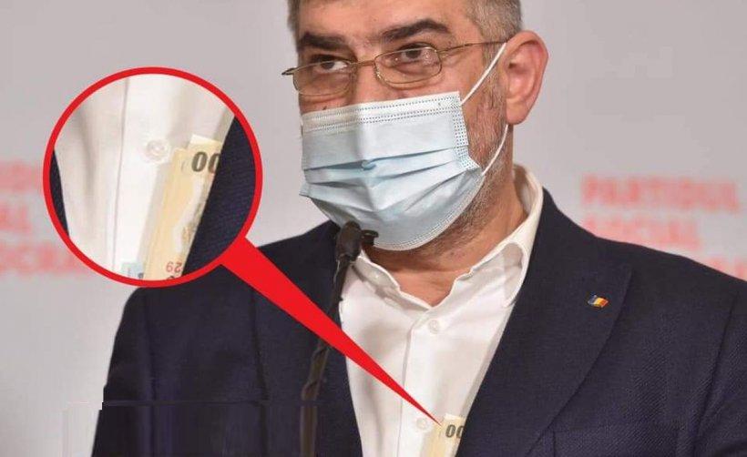 """Marcel Ciolacu, despre banii care i-au ieşit din sacou: """"Sunt momente când ai și cash în buzunar"""""""