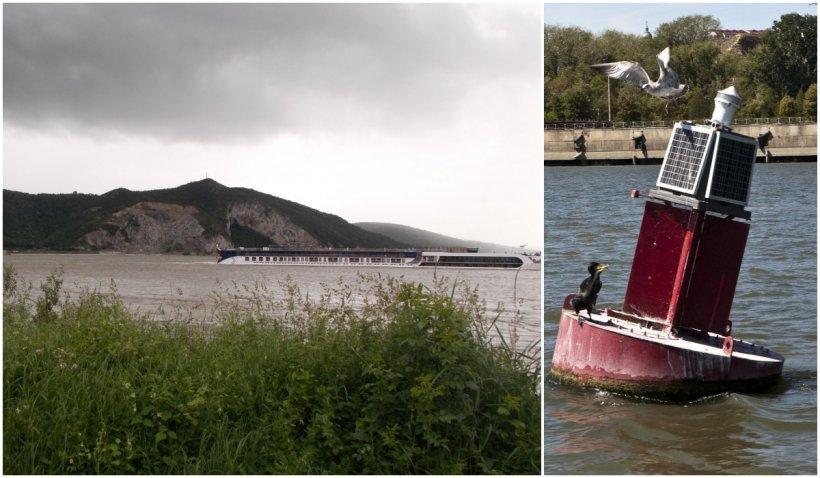 Doi hoți au furat geamandurile de pe Clisura Dunării. Traficul naval, pus în pericol la Moldova Nouă