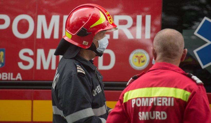 Incendiu la o şcoală din Vrancea. Elevii şi profesorii au fost evacuaţi
