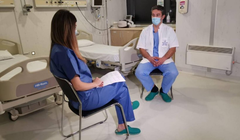 """Cum arată internările în pandemie: Dr. Radu Zamfir: """"Nu vă temeți de COVID, pot exista urmări grave dacă nu veniți la spital"""""""