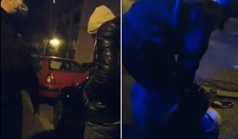 """Spărgător de mașini, prins și încătușat de un polițist local în Constanţa: """"Aoleu, mamă!"""