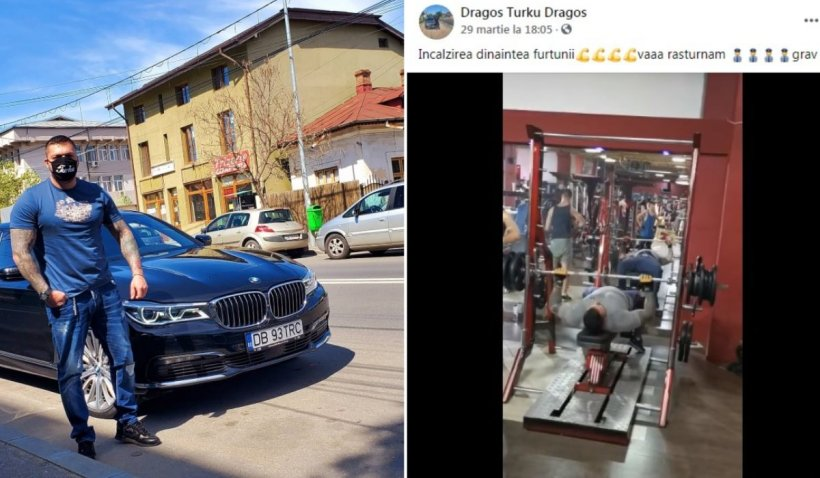 """Interlop din Târgovişte, reţinut pentru instigare la violenţă: """"Vă răsturnăm grav! Facem ravagii totale"""""""