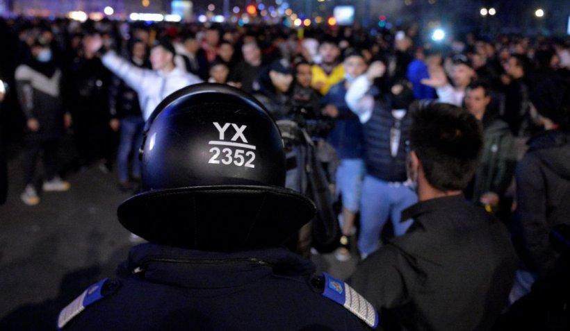 Jandarmeria Română, reacţie după ce a apărut informaţia privind decesul violent al unui protestatar la Brăila