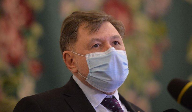 Alexandru Rafila avertizează: Cifrele nu se corelează cu numărul de cazuri noi raportate