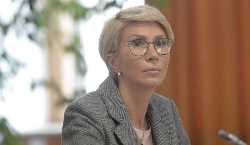 IPJ Sibiu a amendat-o pe Raluca Turcan pentru nepurtarea măștii