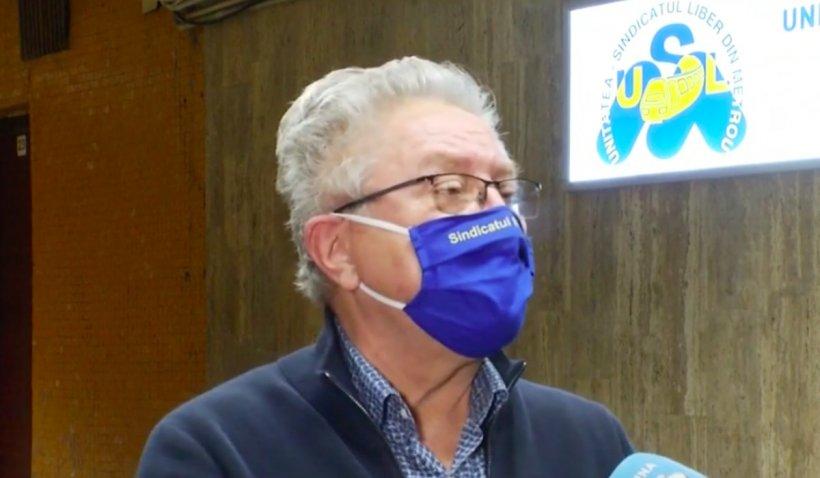 Ion Rădoi, liderul sindicatului Metrorex: De când a venit ministrul Drulă în funcție, eu sunt șef de cartel