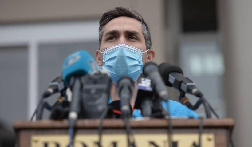"""Valeriu Gheorghiţă: """"Nu este cazul ca persoanele vaccinate să renunțe la mască. Virusul acumulează mutaţii"""""""