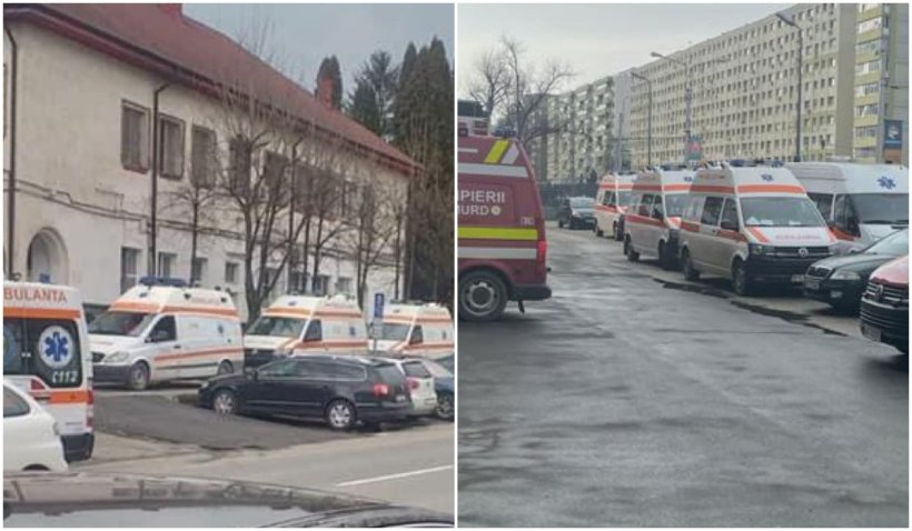 """Vlad Voiculescu, mesaj pe Facebook: """"Nu sunt parcări de ambulanțe, ci cozi în fața unor spitale care tratează pacienți COVID-19"""""""