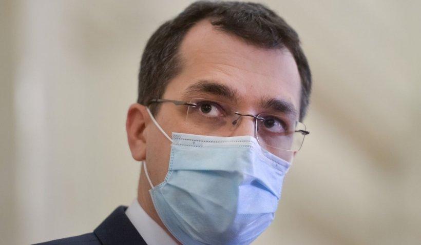 """Ministrul Sănătății a decis suplimentarea locurilor la ATI. Vlad Voiculescu: """"Avem 70 de paturi cu oxigen la Fundeni"""""""