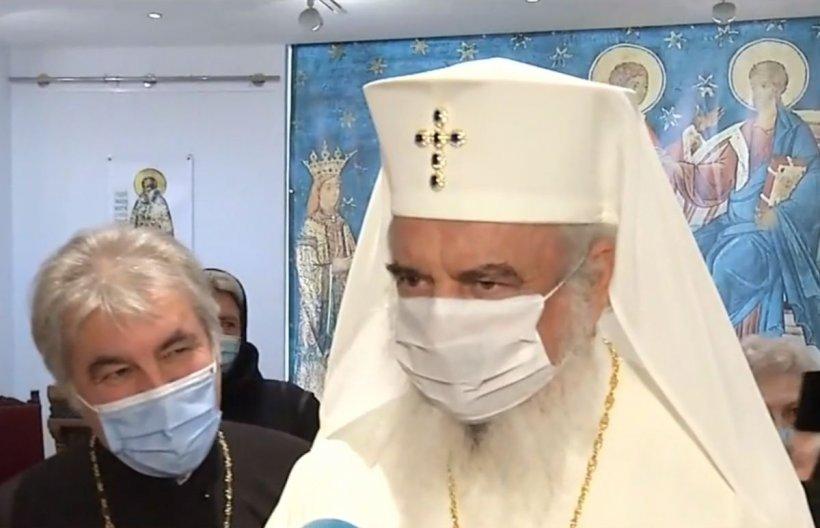 Patriarhul Daniel, prima apariție după ce premierul Cîțu a cerut Bisericii să se implice în campania de vaccinare. Ce a răspuns în legătură cu slujbele de Paște