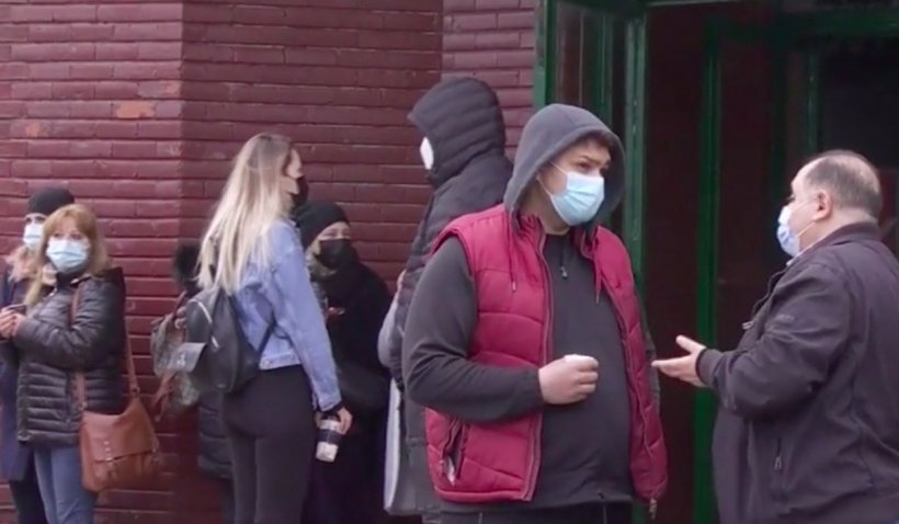 Scandal la stația de metrou Pipera în a doua zi de demolare a magazinelor
