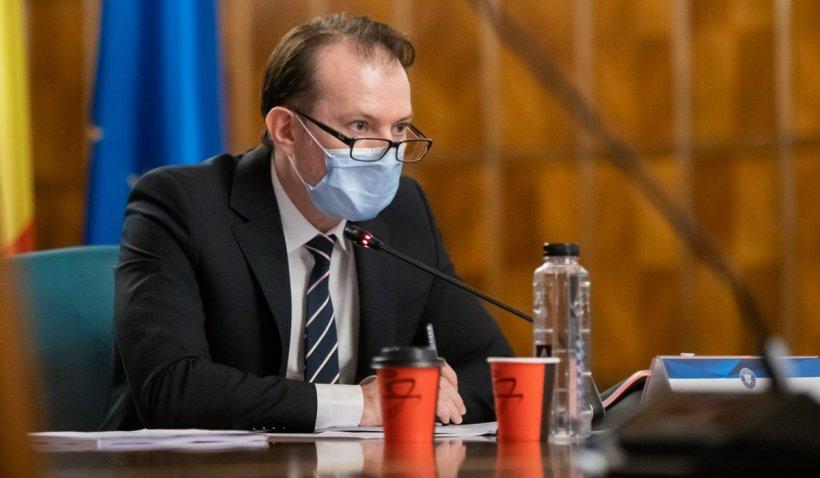 Florin Cîţu: Până la 1 august, am putea renunţa la masca de protecţie
