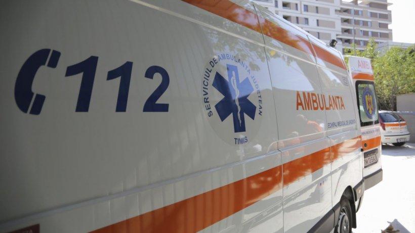 Un pacient s-a aruncat în gol, de la etajul 3 al Spitalului Slobozia, unde se afla internat