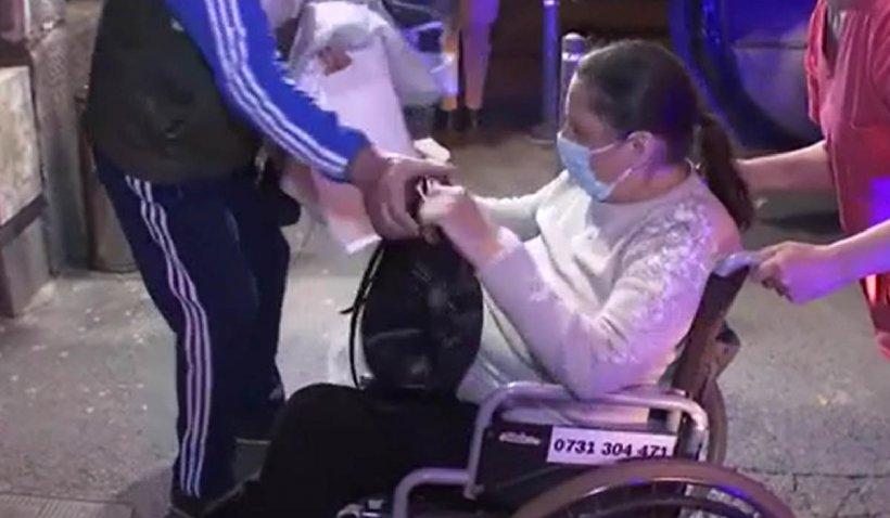 Spitalul de Ortopedie Foişor din Bucureşti, evacuat! Zeci de pacienţi operaţi au fost scoși în stradă fără preaviz