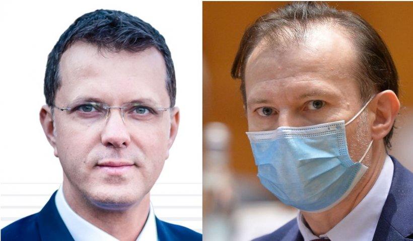 """Deputat USR, după ce premierul Cîţu a făcut apel la """"onoarea"""" lui Vlad Voiculescu: """"Să trecem spitalele SRI, MAI şi MApN la Ministerul Sănătăţii"""""""
