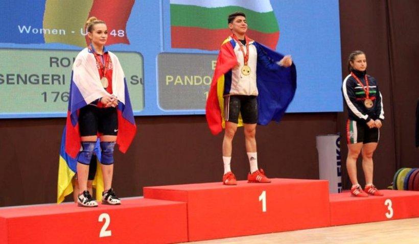 Monica Csengeri, de la traiul pe stradă la triplă campioană europeană la haltere