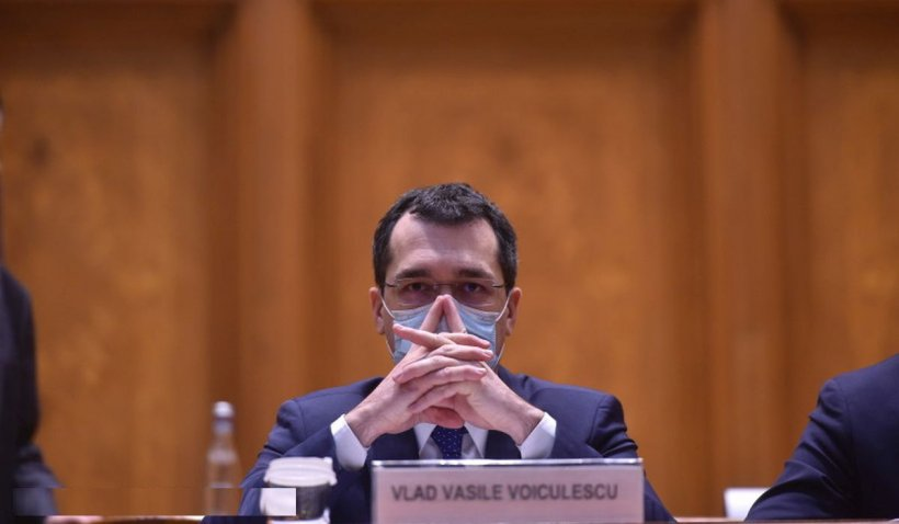 Vlad Voiculescu, cele mai mari cheltuieli de personal pe primele două luni la Ministerul Sănătăţii
