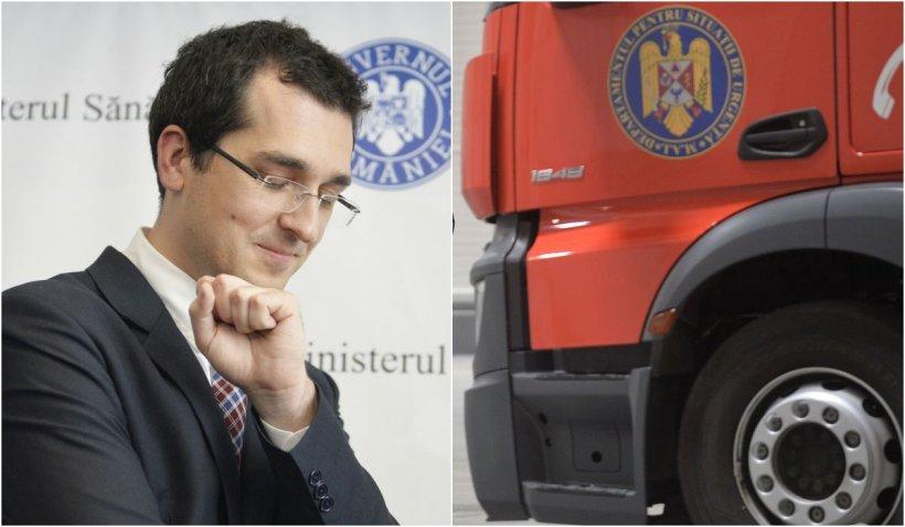 """Declarații contradictorii cu privire la ora la care a aflat ministrul Voiculescu de tragedia de la """"Babeș"""""""