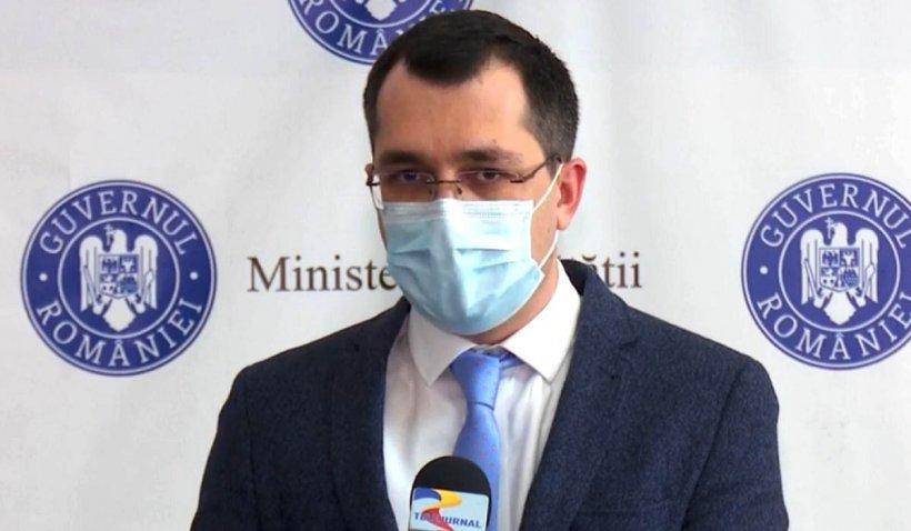 Vlad Voiculescu, anunţ despre tragedia de la Spitalul Victor Babeş
