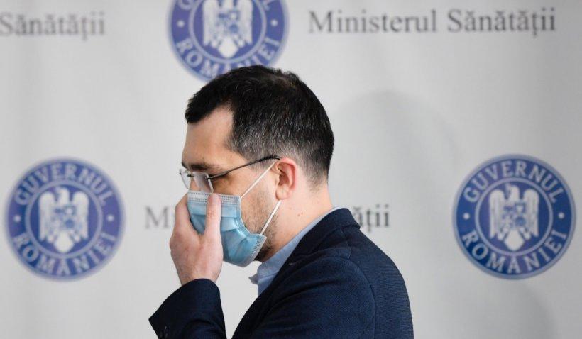 Decretul privind revocarea lui Vlad Voiculescu din funcția de ministru al Sănătății, publicat în Monitorul Oficial