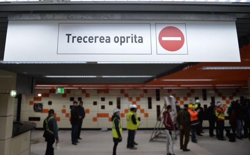 Lucrări la metrou, joi şi vineri. O staţie va fi închisă parţial