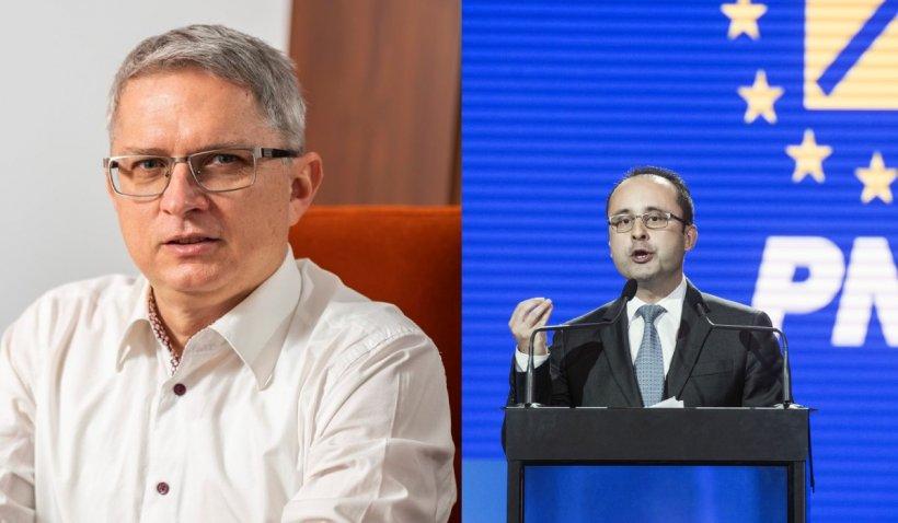 """Ceartă la televizor între un europarlamentar PNL și un senator USR-PLUS: """"Colaborăm foarte bine. Acum e un moment de tensiune"""""""
