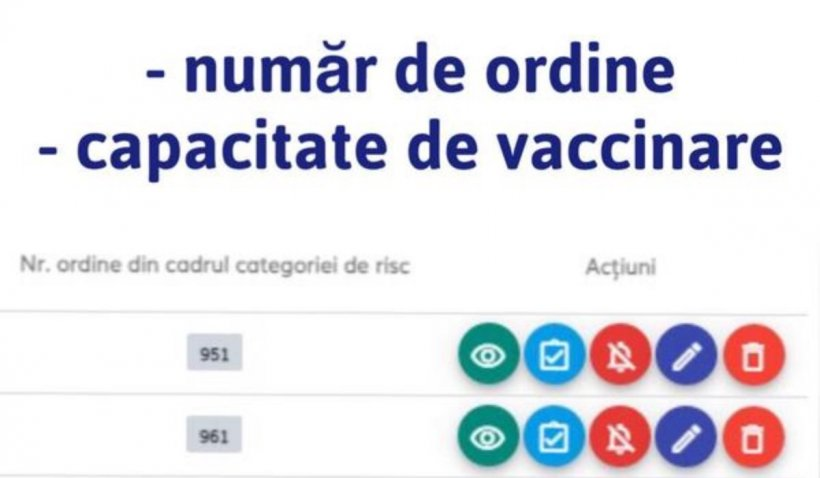 Românii pot vedea de astăzi ce număr de ordine au pe lista de așteptare pentru programarea la vaccinul anti-COVID: Platforma a fost actualizată
