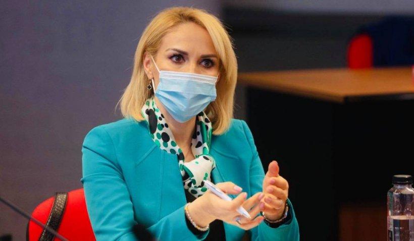 """Gabriela Firea: """"Datele despre numărul de cazuri noi de COVID au fost măsluite din interese electorale"""""""