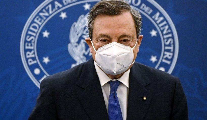 Italia se redeschide treptat de la sfârșitul lunii aprilie, a anunțat premierul Mario Draghi