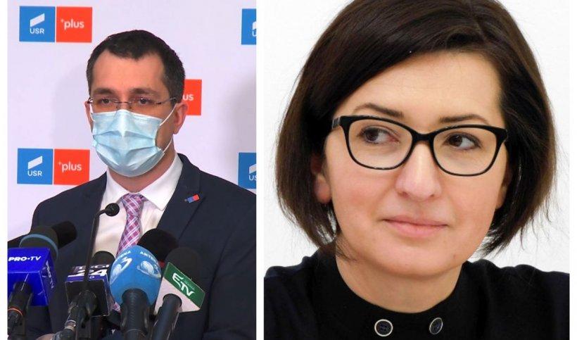 """Voiculescu, despre varianta Oana Mihăilă - ministru al Sănătății: """"Îi voi oferi toată susținerea mea"""""""