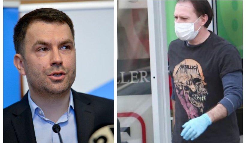 """Ministrul Drulă: Florin Cîţu este un """"zombie politic"""""""