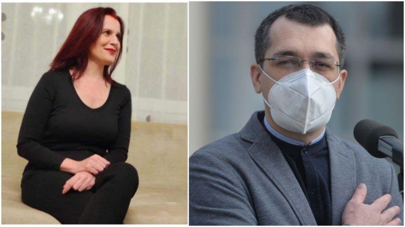 """Dr. Laura Zarafin, după acuzațiile lui Vlad Voiculescu privind raportarea deceselor COVID: """"Ne denigrează spitalul și pe noi toți"""""""