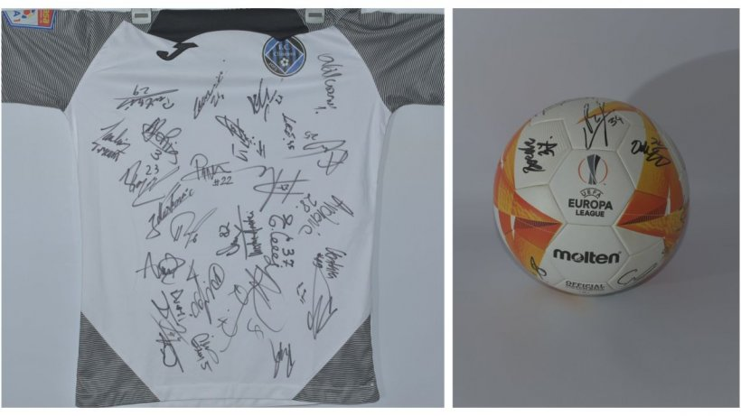 Licitație de tricouri semnate de sportivi renumiți, pentru copiii cu autism