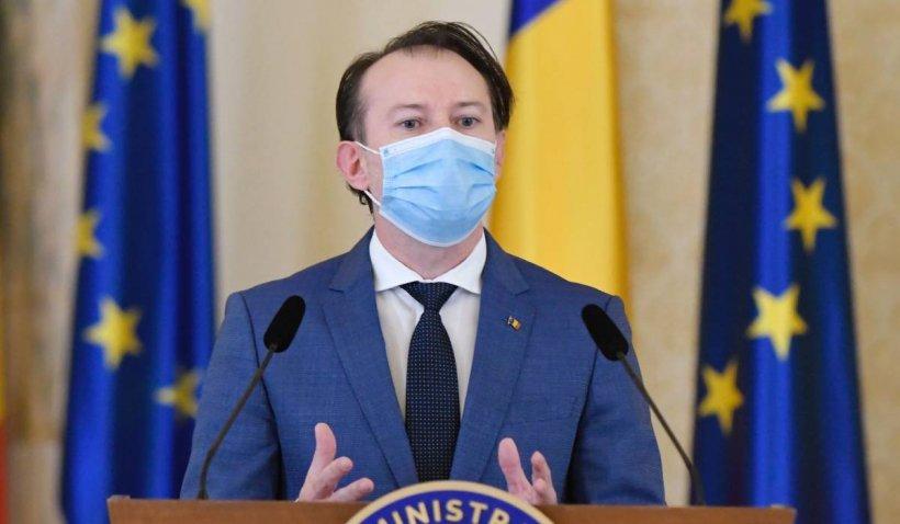 """Florin Cîțu: """"Angajații din companiile private se pot vaccina la locul de muncă"""""""