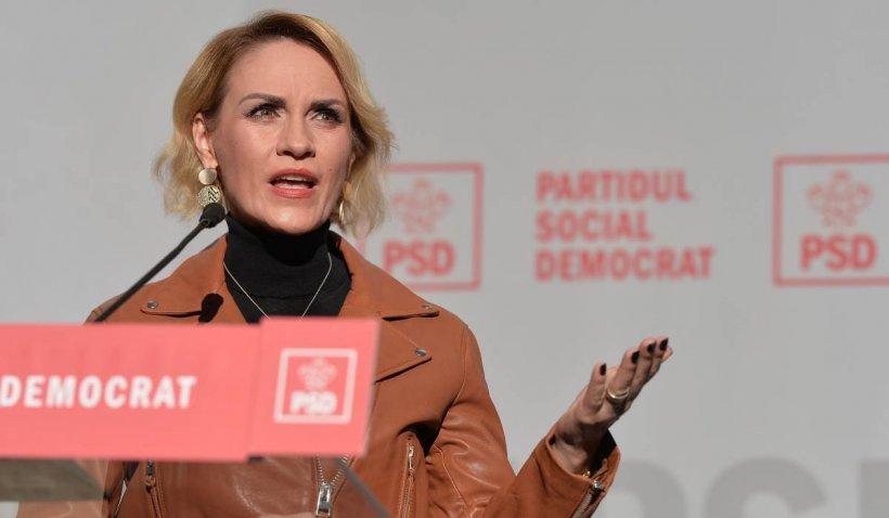 """Gabriela Firea reacționează în cazul voturilor de la Sectorul 1: """"Hoții de la locale strigă fraudă la guvernare"""""""