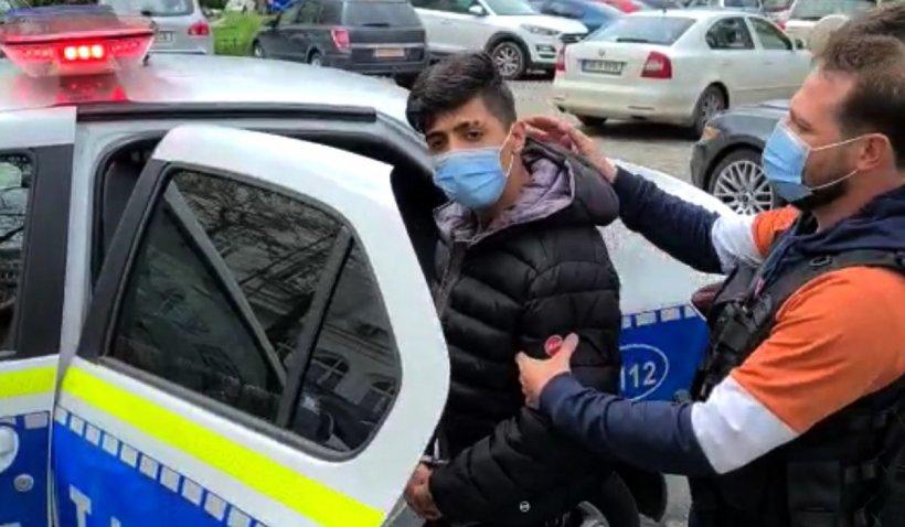 """Gianluca Ghiţă, tânărul român care s-a filmat în timp ce umilea un italian, prins în Bucureşti: """"S-a dat la nevastă-mea, nu îmi pare rău!"""""""