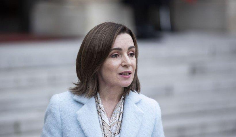 Maia Sandu cere ajutor ajutorul Consiliului Europei în contextul eforturilor de a dizolva Parlamentul dominat de deputaţi pro-ruşi