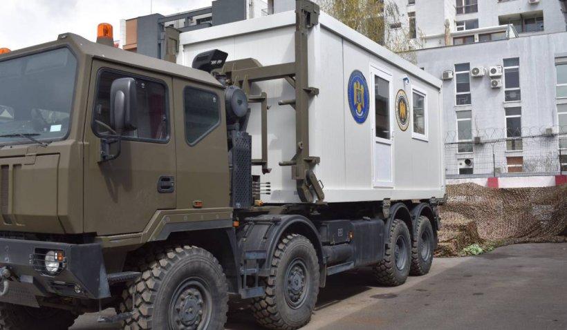 Centrele mobile de vaccinare au fost trimise în localitățile izolate sau greu accesibile
