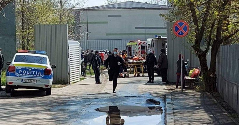 Incendiu la Spitalului Județean Slatina, secția psihiatrie. 37 de pacienți internați!
