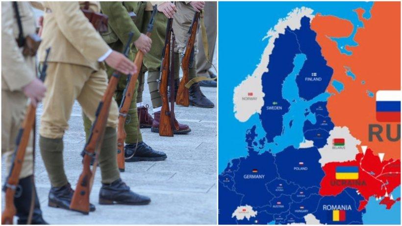 Războiul la graniţele României pare iminent! Ucraina: 120.000 de mii de militari ruși la granițe