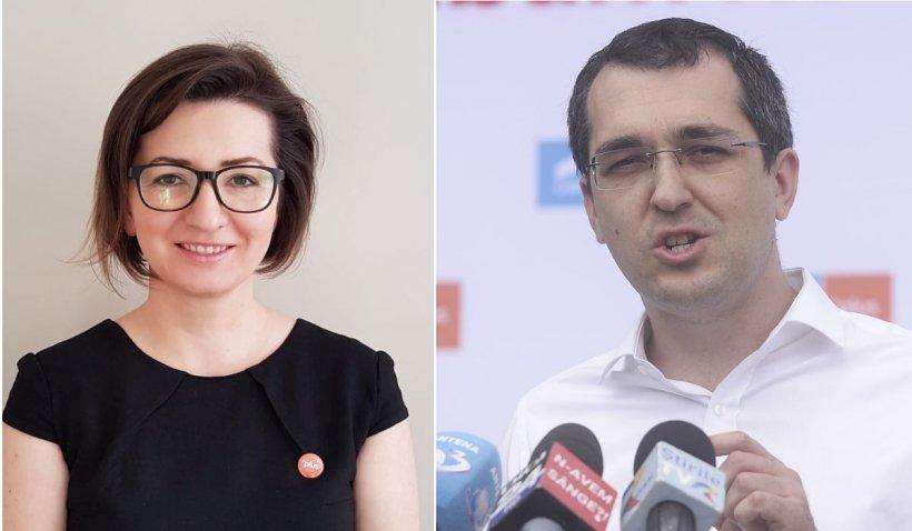 USR-PLUS anunţă miercuri că Ioana Mihăilă preia Ministerul Sănătăţii, după revocarea lui Vlad Voiculescu