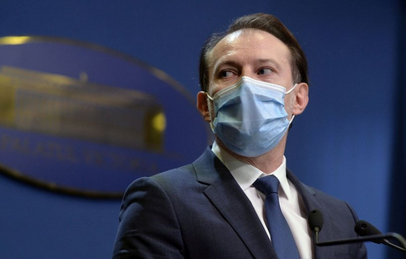 Florin Cîțu: 1 iunie, prea devreme ca să renunțăm la masca de protecție