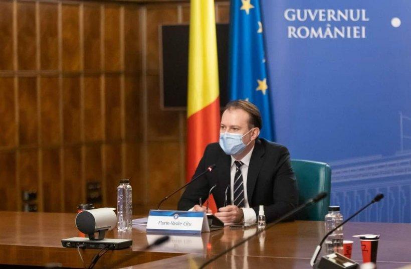 """Florin Cîțu:""""O campanie de vaccinare de succes aduce și normalitatea în România"""""""