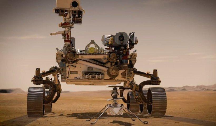 Roverul NASA, nouă premieră pe Marte: a produs oxigen suficient pentru ca un astronaut să respire 10 minute