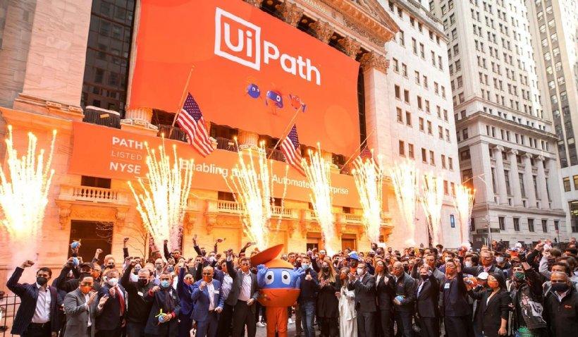 UiPath deschide a doua şedinţă de tranzacţionare de pe Wall Street la 73 dolari pe acţiune