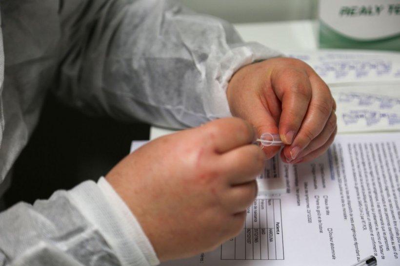 Vindeape internet teste PCR negative, cu 150 lei. A fost săltat de Poliție după ce își făcea reclamă online
