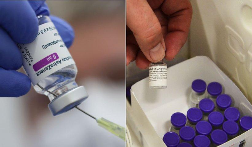 Riscul de infecţie cu COVID scade cu 65% după o primă doză de vaccin Pfizer sau AstraZeneca