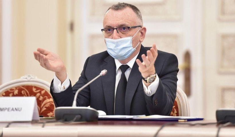 """Sorin Cîmpeanu: """"Elevii din clasele terminale să meargă la școală fizic și în scenariul roșu"""""""