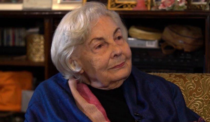 Florica Ursuleanu, mătuşa actriţei Adriana Trandafir, dezvăluie secretul longevităţii la 100 de ani